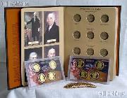 Presidential Dollar Deluxe Album Set 48 Coins BU-Proof Starter Set