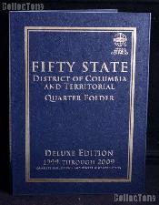 Whitman State, D.C. & Territorial Quarter Deluxe Folder
