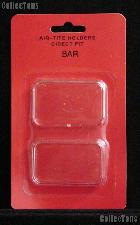 """Air-Tite Coin Capsule Direct Fit """"BAR"""" Coin Holder 1oz SILVER BARS"""