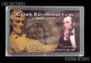 Harris 3x5 Permalock Holder LINCOLN BICENTENNIAL CENTS