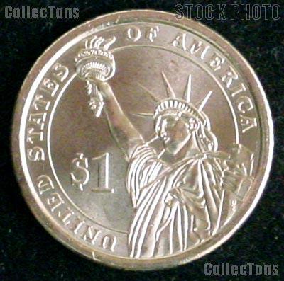 2009-D William H. Harrison Presidential Dollar GEM BU 2009 Harrison Dollar