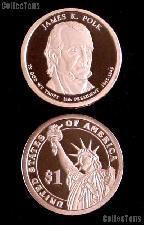 2009-S James K. Polk Presidential Dollar GEM PROOF Coin