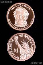 2009-S Zachary Taylor Presidential Dollar GEM PROOF Coin