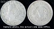 Liberty Head Without Cents Nickel 1883 Variety 1