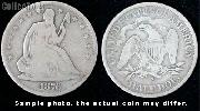 Liberty Seated Motto Half Dollar 1866-1891 Variety 4