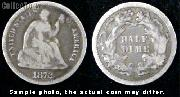 Liberty Seated Legend Half Dime 1860-1873 Variety 4
