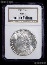 1902-O Morgan Silver Dollar in NGC MS 64