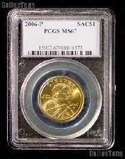 2006-P Sacagawea Golden Dollar in PCGS MS 67