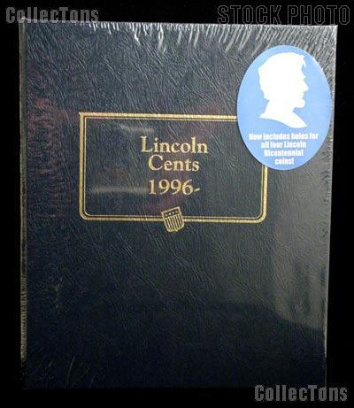 Whitman Classic Coin Album # 2235 For Lincoln Cents 1996-2023s Replaces #9113