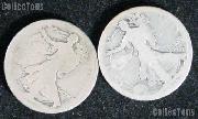 1916-D Walking Liberty Silver Half Dollar - Lower Grade