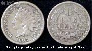 Indian Head Copper-Nickel Small Cent 1860-1864