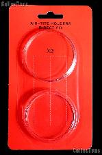 """Air-Tite Coin Capsule Direct Fit """"X3"""" Coin Holder for 2oz. ROUNDS"""