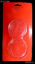 """Air-Tite Coin Capsule Direct Fit """"Y63"""" Coin Holder for 5oz. ROUNDS"""