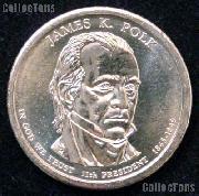 2009 P&D James K. Polk Presidential Dollar GEM BU 2009 Polk Dollars