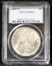 1899-O Morgan Silver Dollar in PCGS MS 64