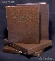 Complete Set of Dansco Albums American Silver Eagle with Proof and Archival Slipcases 1986 to Date