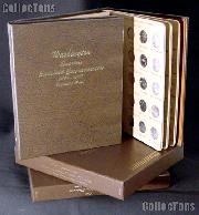 State Quarter Albums Complete Set of State Quarters (Gem BU P & D,Proof, and Silver Proof) 1999 through 2008 w/ Dansco Albums and Dansco Slipcases