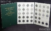 State Quarter Folder Complete Set of State, DC, and Territory Quarters D(Gem BU) w/ Littleton Folder LCF3T & White Cotton Gloves