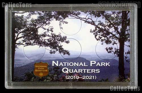 National Parks Quarters Holder by Harris 3x5 Meadow View Design for America the Beautiful Quarter Program