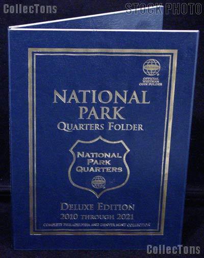 National Park Coin Folder by Whitman for National Park Quarters Program P & D 2010 - 2021