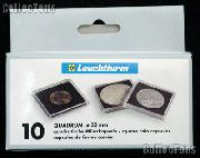 Coin Holder 1 oz Canada Maple Leaf Gold by Lighthouse (QUADRUM 30) 10 Pack of 30mm 2x2 Plastic Coin Holders