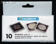 Coin Holder 35mm by Lighthouse (QUADRUM 35) 10 Pack of 35mm 2x2 Plastic Coin Holders