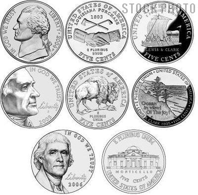 Westward Journey Nickels Series