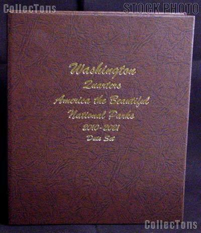 Dansco National Parks Quarter Album for National Park Quarters Program 2010 - 2021 #7148