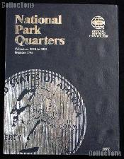 National Parks Coin Folder by Whitman for National Park Quarters Program P & D 2016 - 2021 # 2877