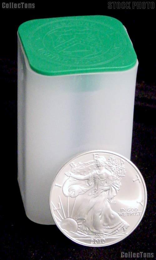 2010 American Silver Eagle Dollar Bu Original Roll