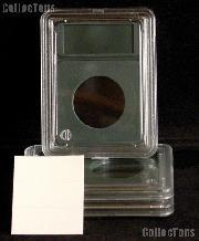 Slab Style Coin Holder 26.5mm Dollars: SBA, Sacagawea, Presidential (3 Pack Coin World Premier)