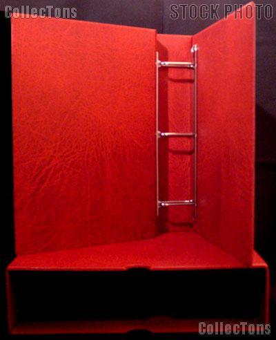 Lighthouse Vario-G Binder and Slipcase in Red