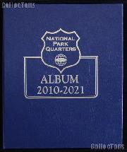 National Parks Quarters Album by Whitman 2010 - 2021 #3056