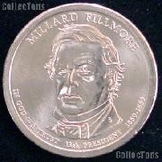 2010-D Millard Fillmore Presidential Dollar GEM BU 2010 Fillmore Dollar