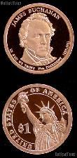 2010-S James Buchanan Presidential Dollar GEM PROOF Coin