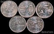 2002 Quarters Set of 10 BU Coins 2002 State Quarters P & D Mints