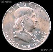 1950 Franklin Half Dollar Silver * Choice BU 1950 Franklin Half