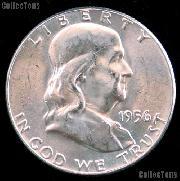1956 Franklin Half Dollar Silver * Choice BU 1956 Franklin Half