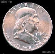 1960 Franklin Half Dollar Silver * Choice BU 1960 Franklin Half