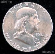 1961 Franklin Half Dollar Silver * Choice BU 1961 Franklin Half