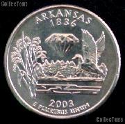 Arkansas Quarter 2003-D Arkansas Washington Quarter * GEM BU for Album