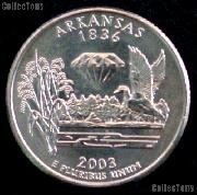 Arkansas Quarter 2003-P Arkansas Washington Quarter * GEM BU for Album