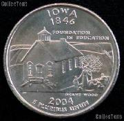 Iowa Quarter 2004-D Iowa Washington Quarter * GEM BU for Album