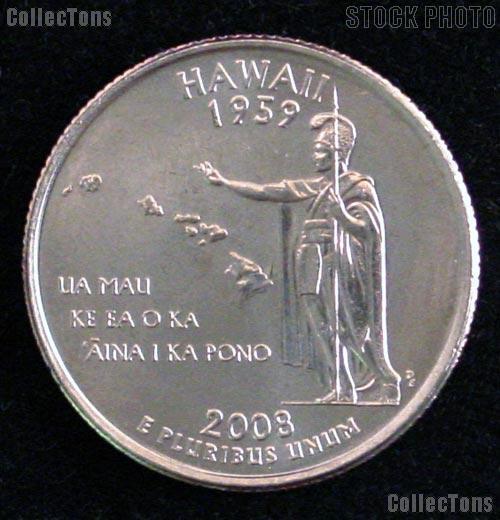 Hawaii Quarter 2008-D Hawaii Washington Quarter * GEM BU for Album