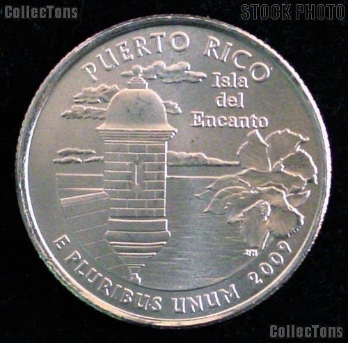 Puerto Rico Quarter 2009-P Puerto Rico Washington Quarter * GEM BU