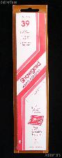 Showgard Strip Style Clear Stamp Mounts Size 39