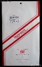 Showgard Pre-Cut Clear Stamp Mounts Size 229/131
