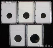Slab Coin Holders Set by BCW 5 Each CENT, NICKEL, DIME, QUARTER, HALF DOLLAR