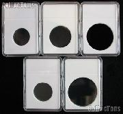Slab Coin Holders Set by BCW 5 Each QUARTER, HALF, SMALL, LARGE DOLLAR, SILVER EAGLE