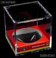 Baseball Holder Display by BCW BallQube Grandstand Baseball Case Cube